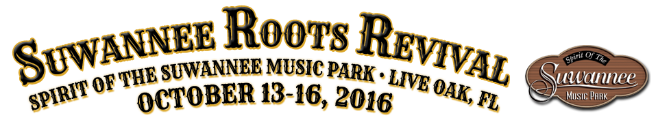 Suwannee Roots Revival | Oct 13-16, 2016