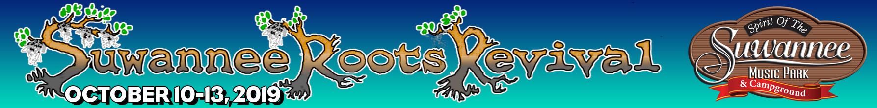Suwannee Roots Revival | Oct 10-13, 2019